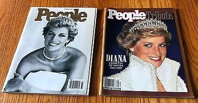 Lot of 2 People Magazine September 15, 1997 Fall 1997 Tribute to Princess Diana