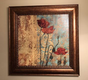Gorgeous Kirkland s Picture. 40 X 40 . Nice Size! Perfect Condition! PPU or Meet