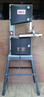 """Craftsman 10"""" Bandsaw with stand"""