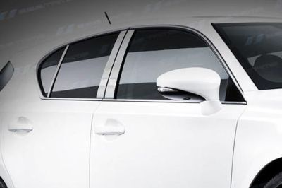 Find SES Trims TI-P-299BRUSH 11-13 Lexus CT Door Pillar Posts Window Covers Trim motorcycle in Bowie, Maryland, US, for US $70.20