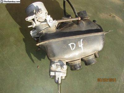 bay window bus throttle body/plenum D4