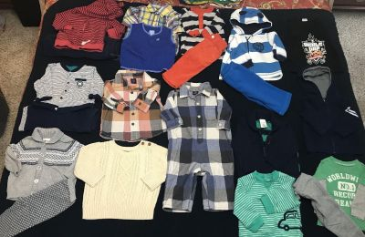 3-6 month boys winter clothes