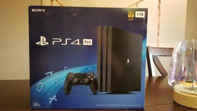 PS4 PRO - BRAND NEW