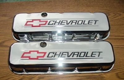 Purchase VALVE COVER SET BIG BLOCK CHEVY TRIPLE CHROME PLATED STEEL SHORT CHEVROLET NEW motorcycle in Brooksville, Florida, United States