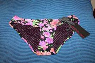 $5 New Material Girl bikini bottoms, CHOICE size small, medium or large