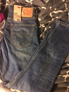 36/32 Levi s jeans 510 nwt