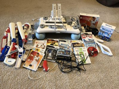 Complete Nintendo Wii System!!!