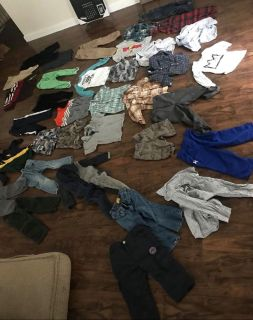 Huge boys lot! Size 18 month- 3t (only 4 3t items)