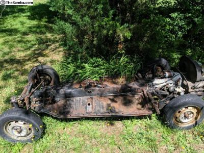 IRS rolling chassis with or w/out Trans and engine