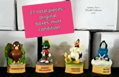 Lenox Looney Tunes Thimble Collection