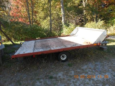 Snow mobile / Utility Trailer