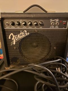 Guitar plus amp