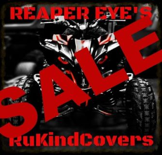 Sell 2016 YAMAHA RAPTOR 350/700/YFZ450 Wolverine REAPER HeadLight Covers motorcycle in Medina, Ohio, United States, for US $18.00
