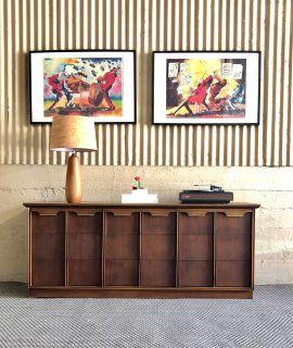Mid Century Walnut Dresser / Credenza By Basicwitz