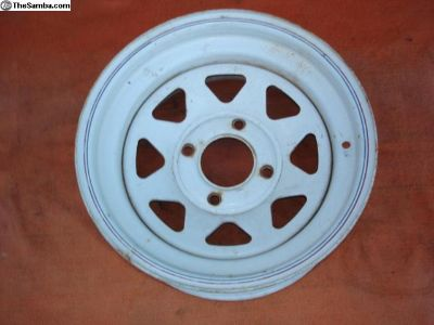 """One 15""""X7"""" Wheel 4 Lug"""