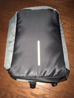 Backpack School Bag with USB Charging Port Fits 15.6 inch Laptop and Notebook- brand new