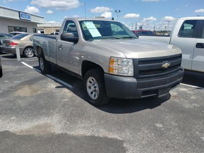 2008 Chevrolet Silverado 1500 Work Truck (Gold)