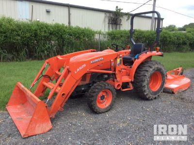 2016 (unverified) Kubota L2501D 4WD Tractor