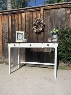 Refinished computer desk/ entry table