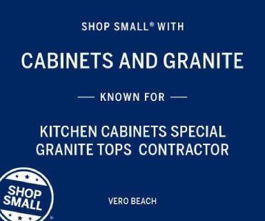 affordable cabinets and 3 cm Crema Bordeaux Ubatuba granite Vero Beach