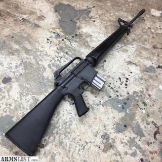 """For Sale: 1977 Colt SP1/AR-15 Sporter """"Green Label"""" - 5 Digit"""