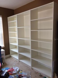 IKEA Billy Bookcases (3)