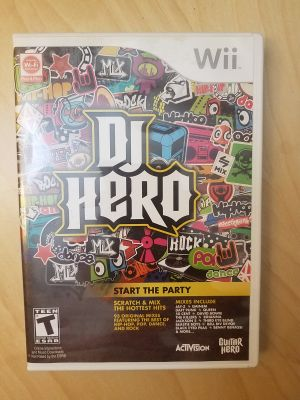 DJ Hero - Wii [Game only]