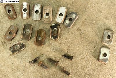 Body to Pan/Beam Washers/Plates & Bolts