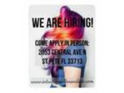 We are hiring- Licensed hairstylist!