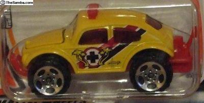 Matchbox HeroCity VW Baja Bug 4x4 yellow
