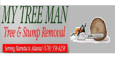 Tree & Stump Removal Service (678)558-08258 www.mytreeman.com
