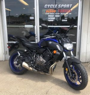 2018 Yamaha MT-07 Sport Motorcycles Hobart, IN