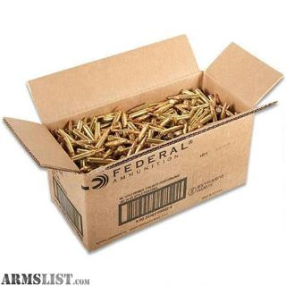 For Sale: Federal 223 bulk ammo 1000 55gr FMJ