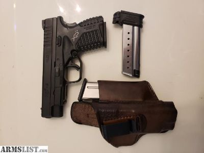 For Sale/Trade: Springfield XDS 4.0