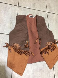 Size small western vest