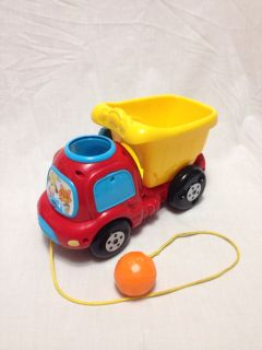 VTech Dump Truck with one ball. Works. Has sound. Pick up at McCalla Target Thursday s from 5:15-6.