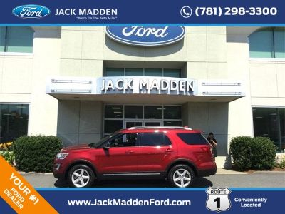2017 Ford Explorer XLT (Ruby Red)