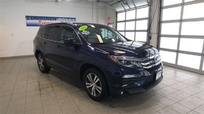 2018 Honda Pilot EX-L (blue)