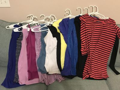Lot of Size S Maternity Tops