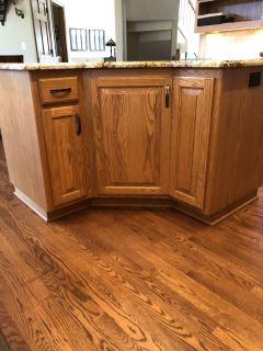 Kitchen Island with Cabinet