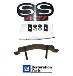 "Purchase GRILLE EMBLEM FOR STANDARD GRILLE ""SS 427"" 68 CAMARO motorcycle in Lakeland, Florida, US, for US $35.00"