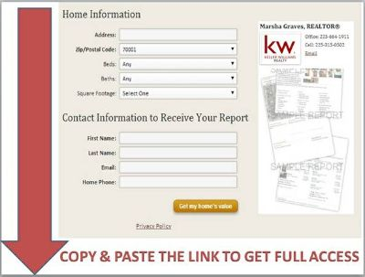 Receive a custom evaluation for your home