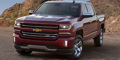 2018 Chevrolet Silverado 1500 Crew Cab Short Box 2-Wheel Dri (Cajun Red Tintcoat)