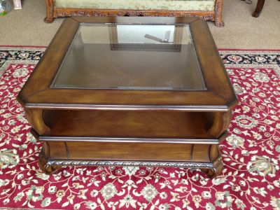 Coffee Table and Side table solid wood
