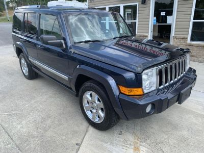 2008 Jeep Commander Limited (Blue)
