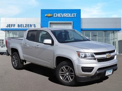 2019 Chevrolet Colorado 4WD Work Truck (Silver Ice Metallic)