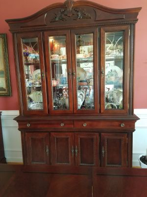 Hutch in Cherry Finish