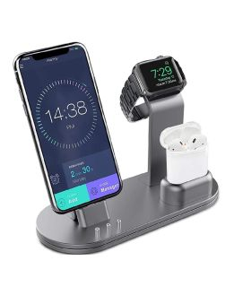 Apple Charging Stand Aluminum Alloy Charging Docks