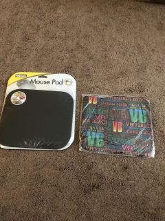 Brand new mouse pads