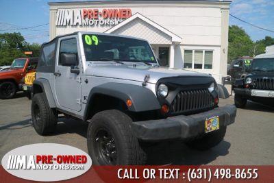 2009 Jeep Wrangler X (Bright Silver Metallic)